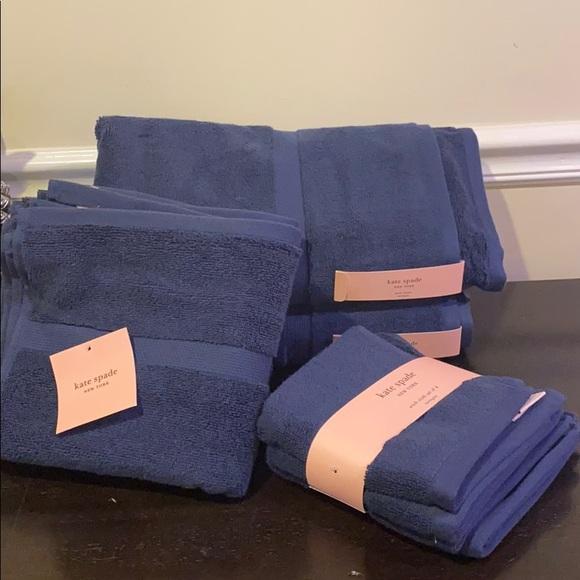 Kate Spade Harrington Bath Towel Collection